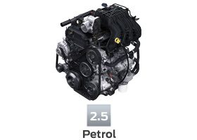 2500 cc Petrol Engine
