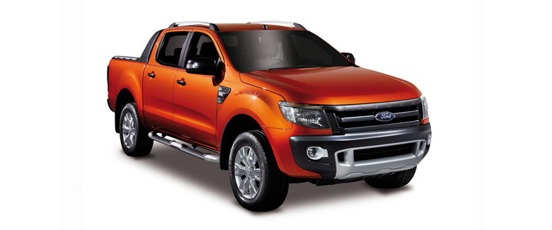 Ford Ranger Double Cab Wildtrak pickup truck