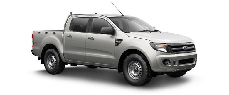 Ford Ranger Double Cab 4x2 2WD pickup truck