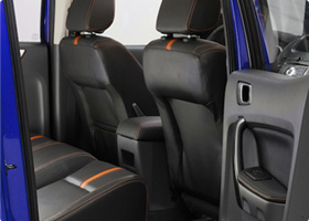 2012 ford ranger class leading legroom