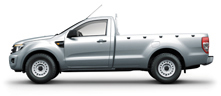 2012 ford ranger single standard cab 2WD pickup truck now available at Jim Autos Thailand