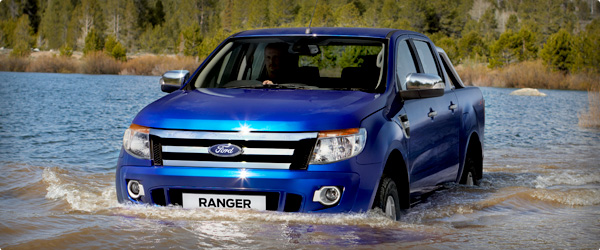 2012 ford ranger has great suspension