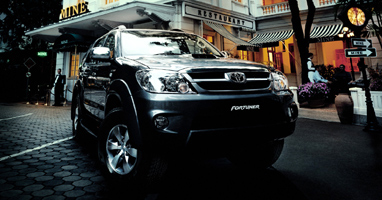 Toyota Fortuner Thailand's on sale at Thailand's top 4x4 exporter