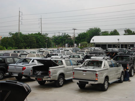 Thailand's largest 4x4 exporter now has Thaialand's largest showroom