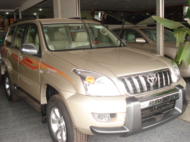 Soni is Asia's largest exporter of Left Hand Drive Prado
