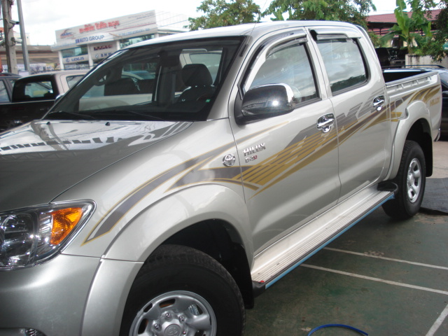 Soni is Asia's largest exporter of Left Hand Drive Toyota Hilux Vigo