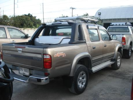 toyota D4D 2002-2004 Hilux Tiger from Thailand, England United Kingdom's,