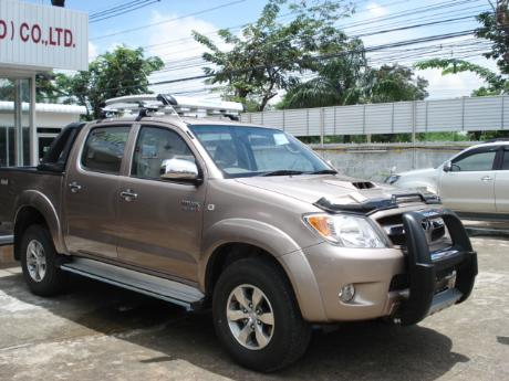 new Toyota Hilux Vigo Double Cab with A-bar at Thailand's top Toyota Hilux Vigo</a>dealer Jim Autos Thailand